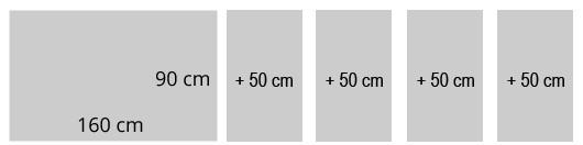 160x90cm